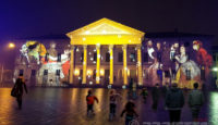 mapping projection Como