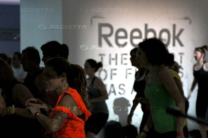 Reebok Booth Advertising Projections Mapping Projector