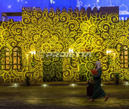 Qatar, Doha – Projections for Ramadan