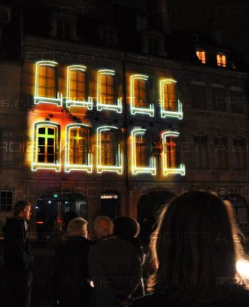 videomapping – Victor Hugo Museum opening Besançon (France)
