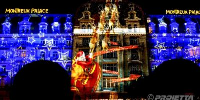 Video Mapping Montreux 2018