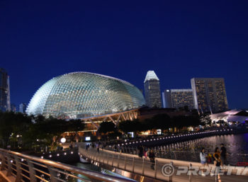 Esplanade of Singapore: Architectural Illumination