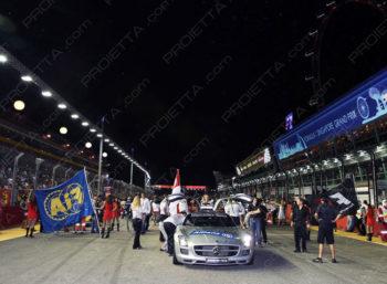 Singapore Grand Prix 2014: Projectors Installation