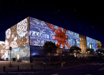 projections in shopping malls