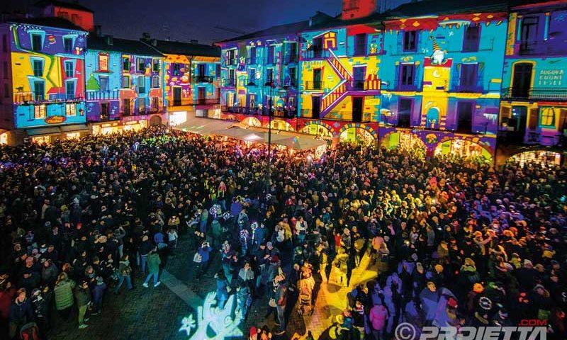Proiezioni di Natale a Como