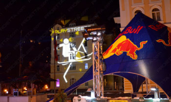 Red Bull Play Street projections