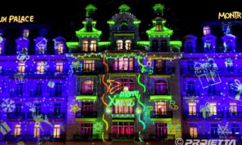 Video mapping Montreux