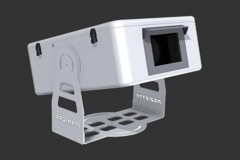 Guscio climatizzato per video proiettore exterior-10k