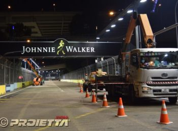 Singapore 2018 Over Track Illumination
