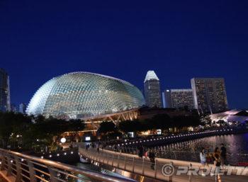 Esplanade of Singapore: Architectural Illumination