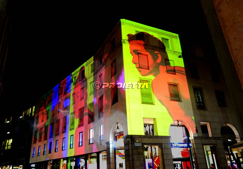 Nike Store Video Projections